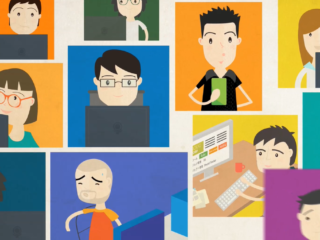 Animated corporate videos for internal communications (I)